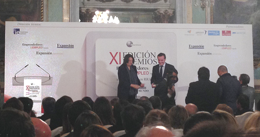 Leading the Change Awarded During the Emprendedores & Empleo event for Innovating in Human Resources