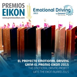Emotional Driving project wins the EIKON award 2015