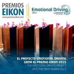 El proyecto Emotional Driving gana el premio EIKON 2015