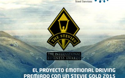 El proyecto Emotional Driving gana un Stevie Gold en los International Business Awards 2015