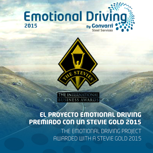 Emotional Driving project wins a Stevie Gold in the International Business Awards 2015