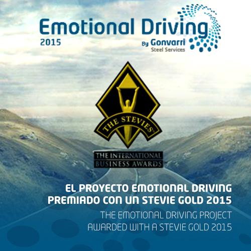 El proyecto Emotional Driving gana un Stevie Gold en los International Business Awards 2015