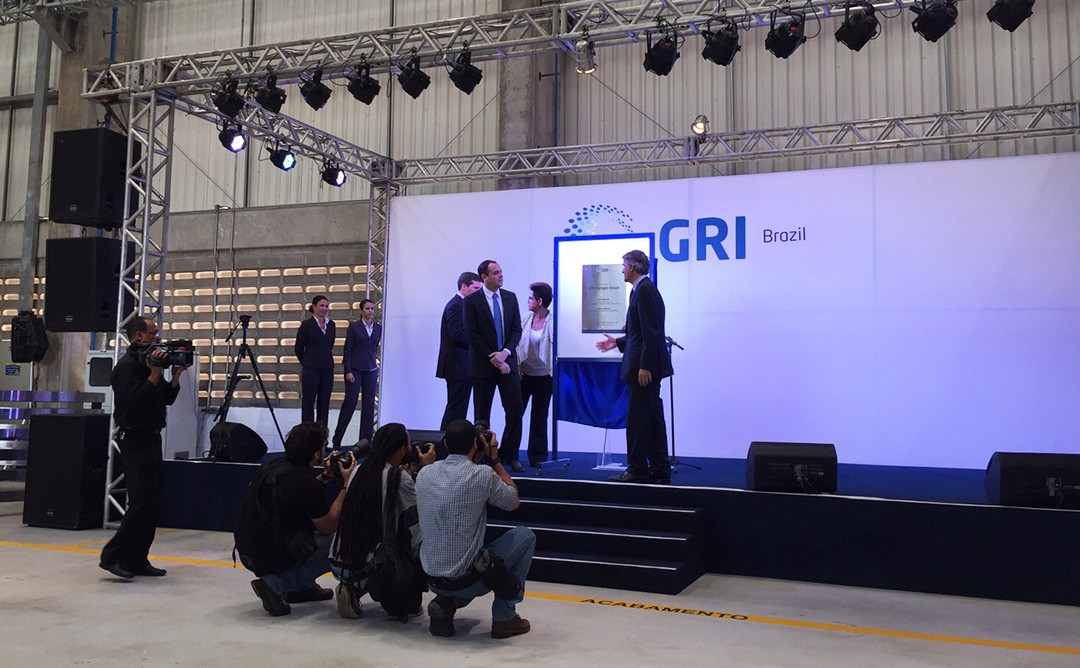 Pernambuco's governor Paulo Cámara inaugurates GRI Renewable Industries' new wind flanges factory in Brazil
