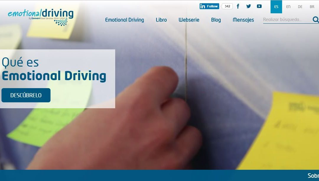 Nueva web de Emotional Driving