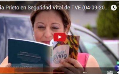 """Emotional Driving y Sonia Prieto en """"Seguridad Vital"""" de Televisión Española"""