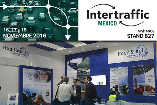 Road Steel takes part in Intertraffic Mexico