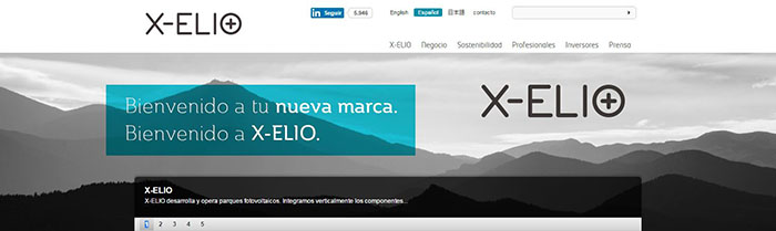 Ya está disponible la web de X-ELIO